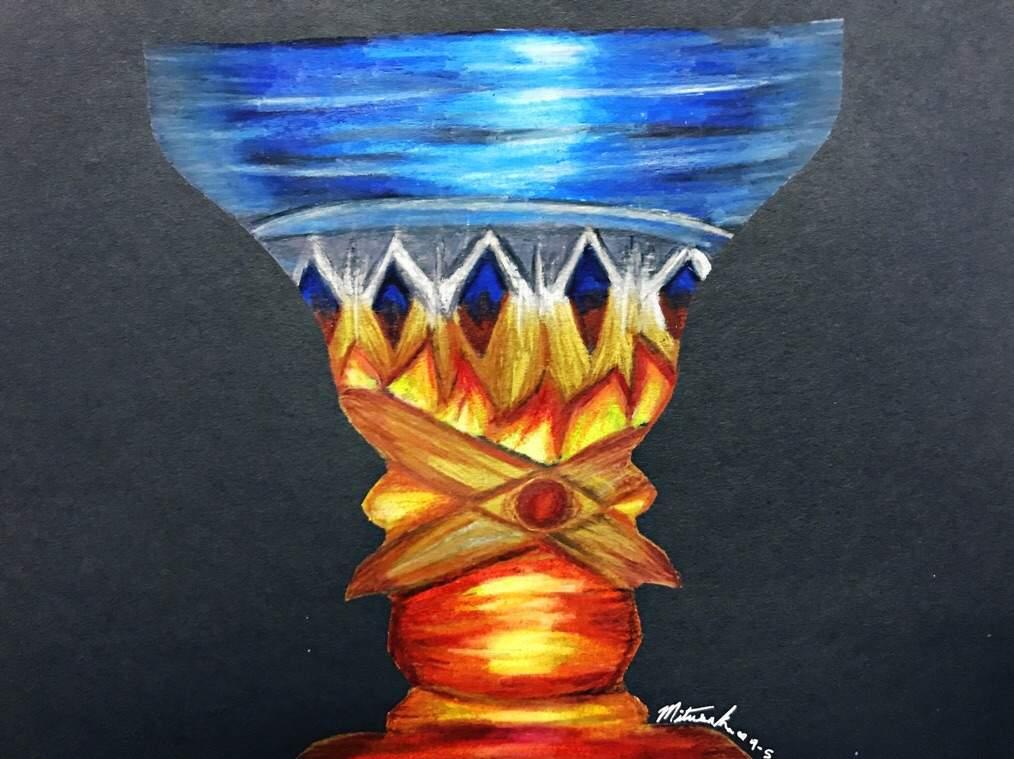 Face Vase Illusion Art Amino