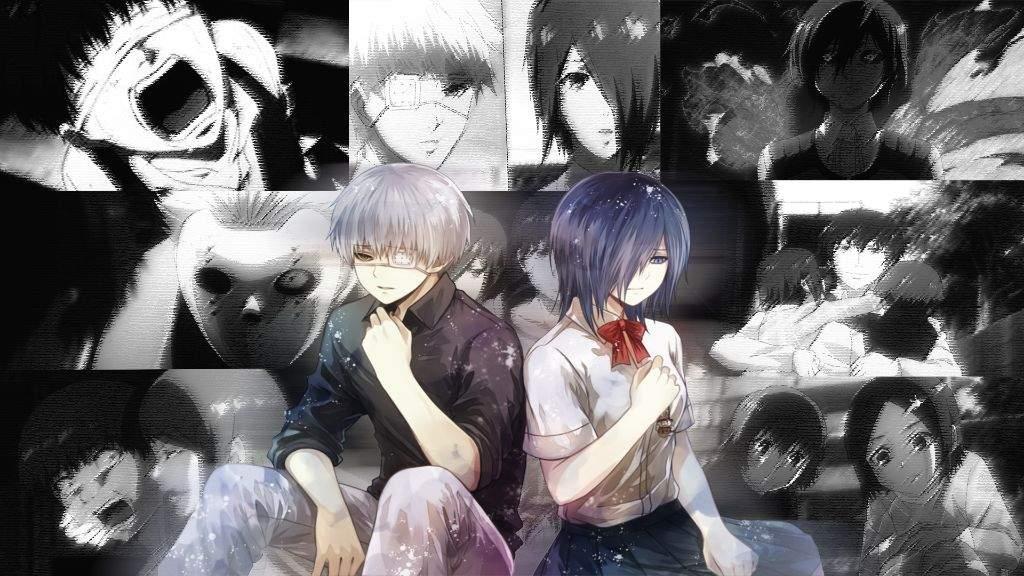 Kaneki X Touka Tokyo Ghoul Wallpaper Art At Anime Amino