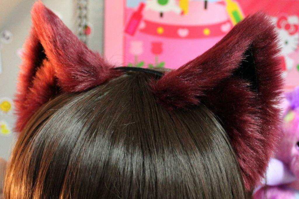 How To Make Cosplay Cat Ears - Adult Clip-8486