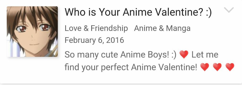 who is your perfect boyfriend