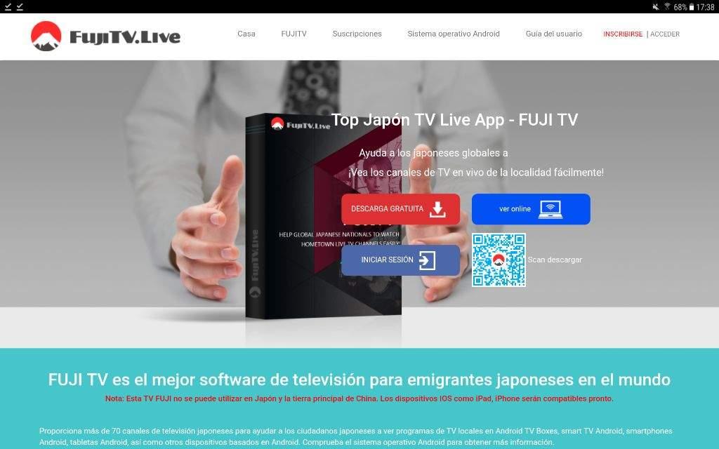 FUJITV: toda la tv japonesa a tu alcance  | Japón Amino