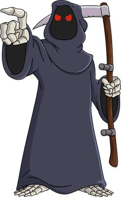 10 Appearances Of The Grim Reaper In Cartoons Cartoon Amino