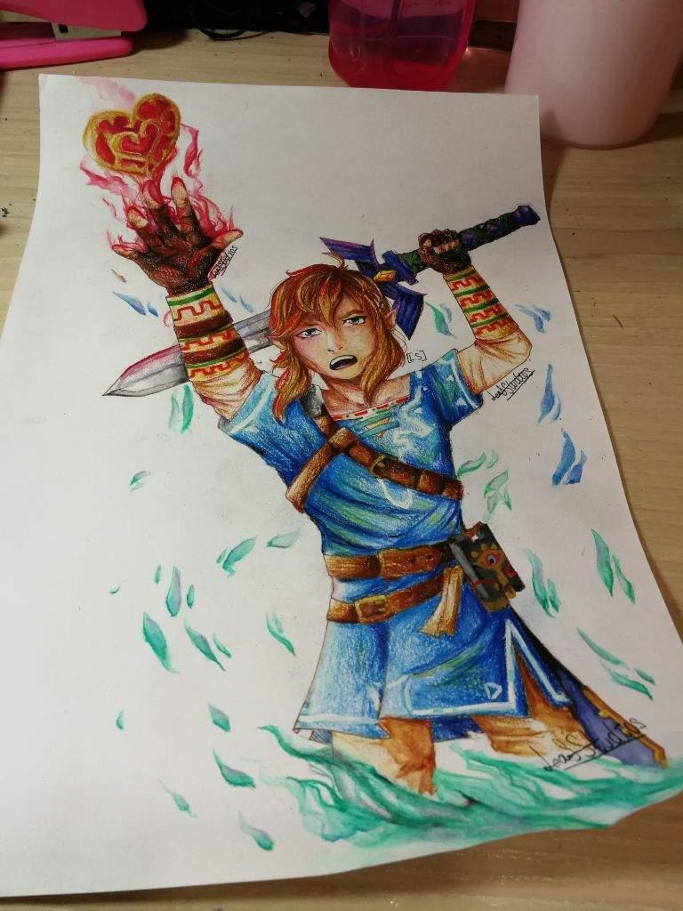 Botw Link Fanart Zelda Amino
