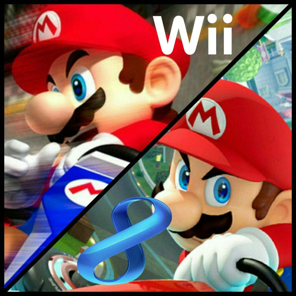 Mario Kart Wii Vs Mario Kart 8 Video Games Amino