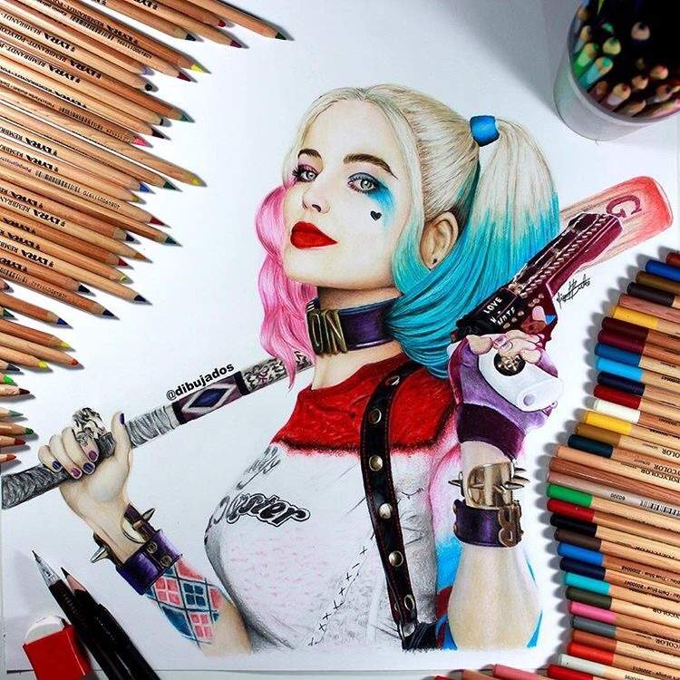 Harley Quinn Dibujarte Amino