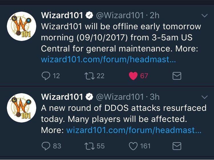More DDOS Attacks! | Wizard101 Amino