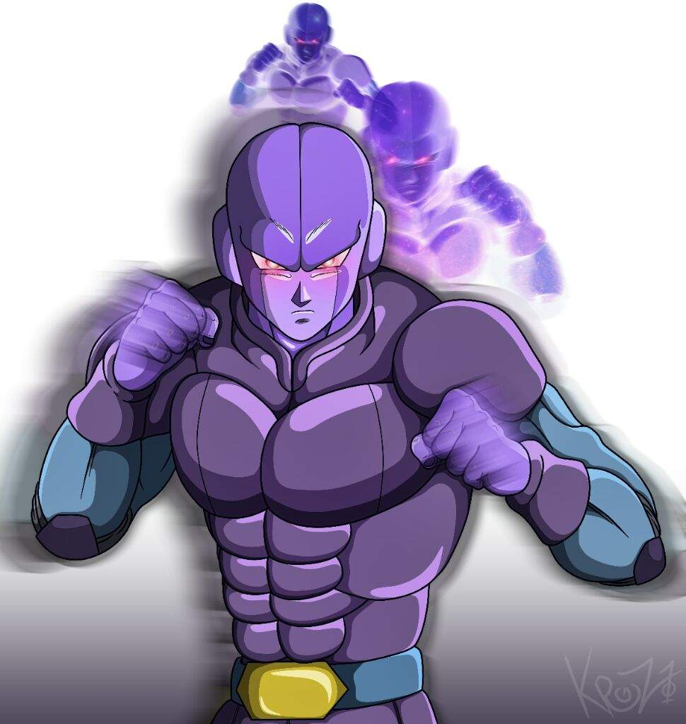 Fanart Digital De Hit El Sicario Del Universo 6 ⚡ Dragon