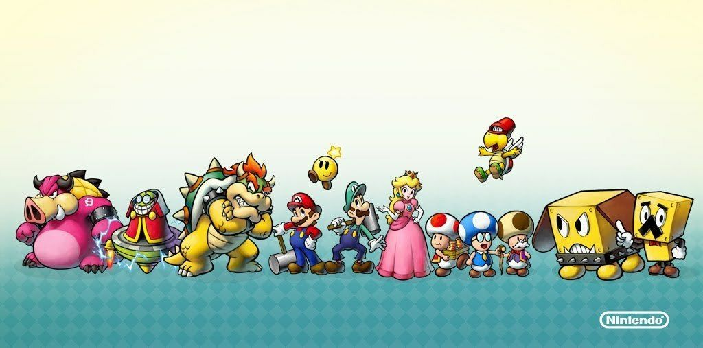 Mario Luigi Bowser S Inside Story Mario Amino