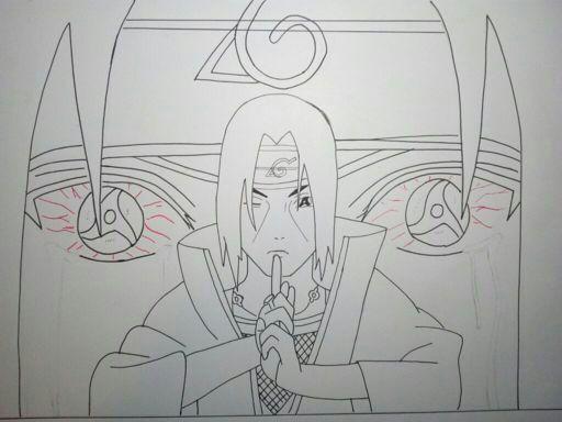 Dibujo de itachi uchiha | •Naruamino• Amino