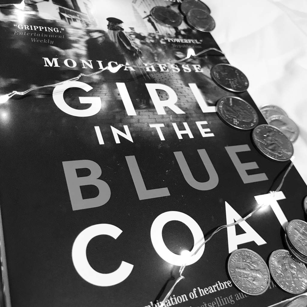 d005194db6c8 Review  Girl in the Blue Coat by Monica Hesse