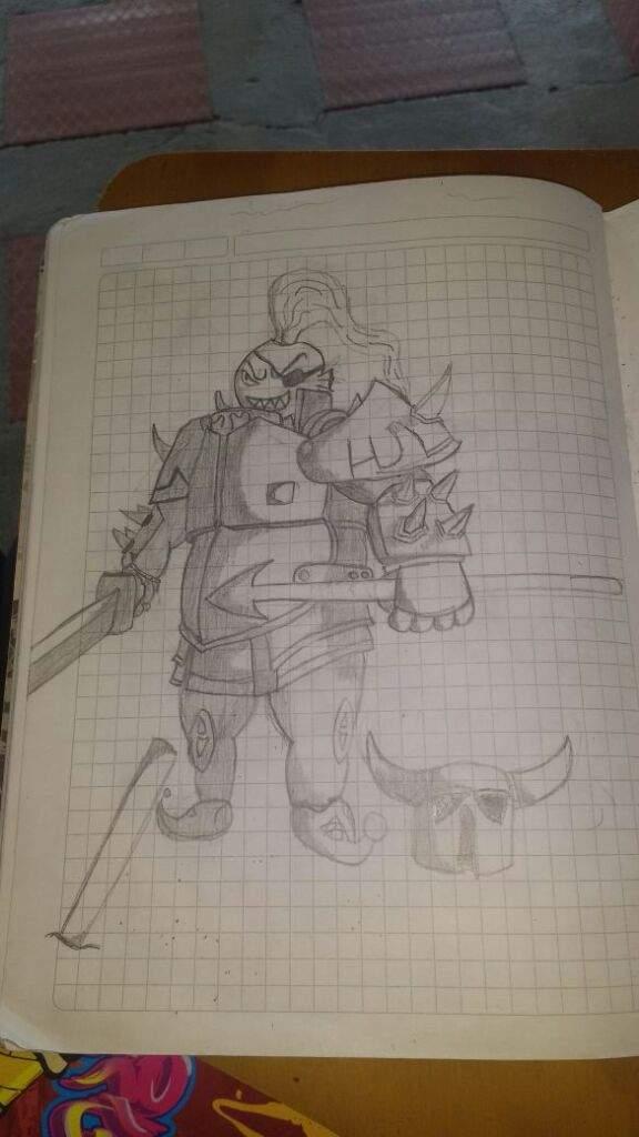 Pekka Undyne Dibujo Clash Royale Amino Amino