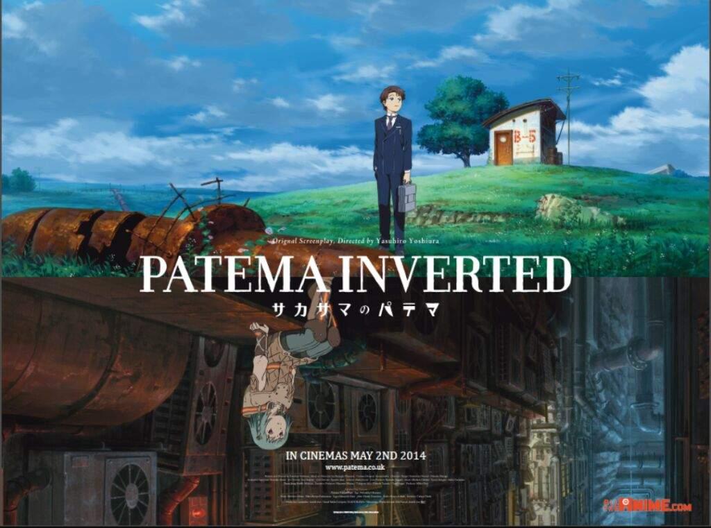 إنطباع فيلم باتيما المقلوبة Patema Inverted