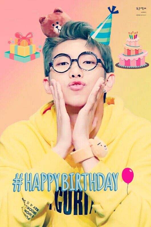 Namjoon Birthday Edits
