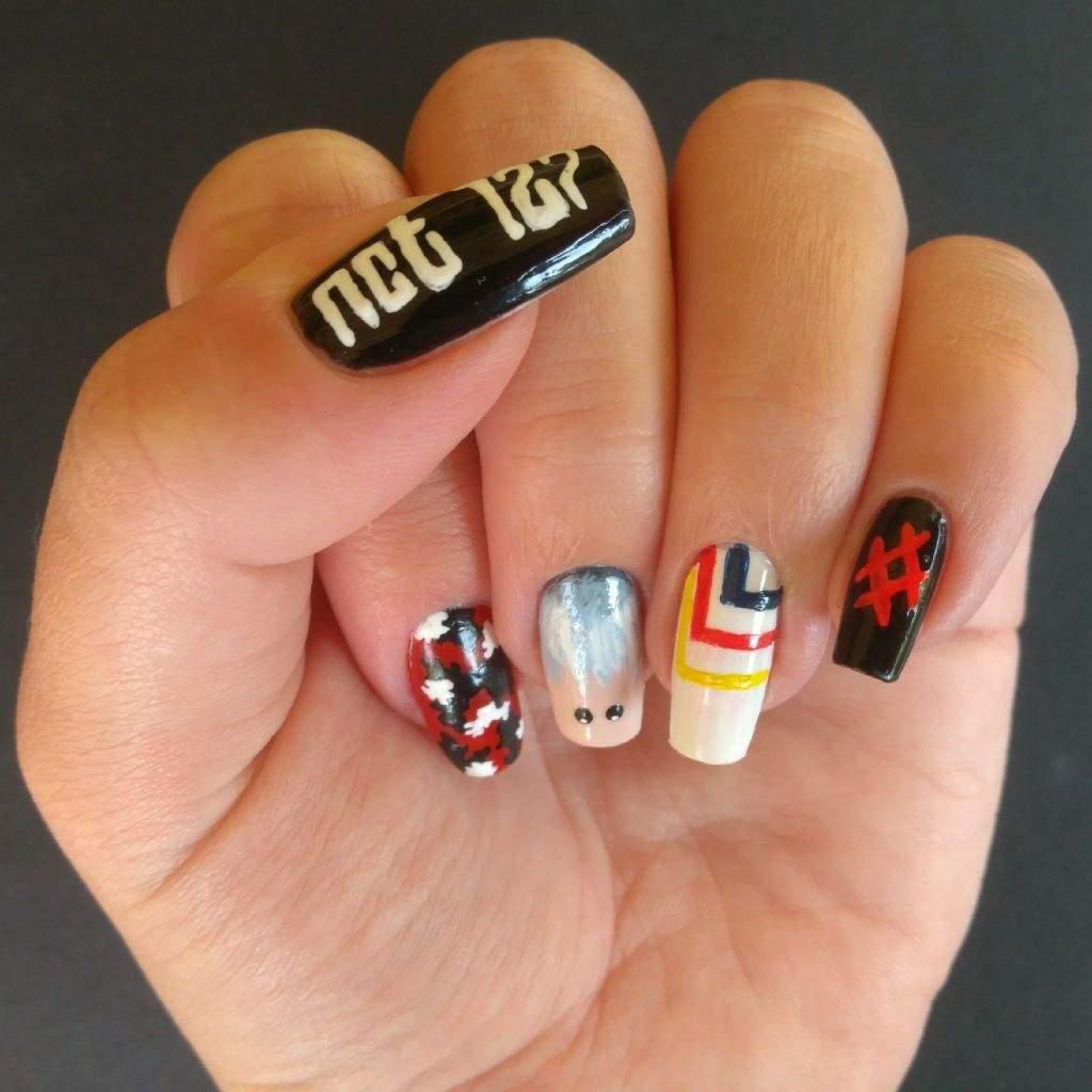 Nct 127 Nail Art K Pop Amino
