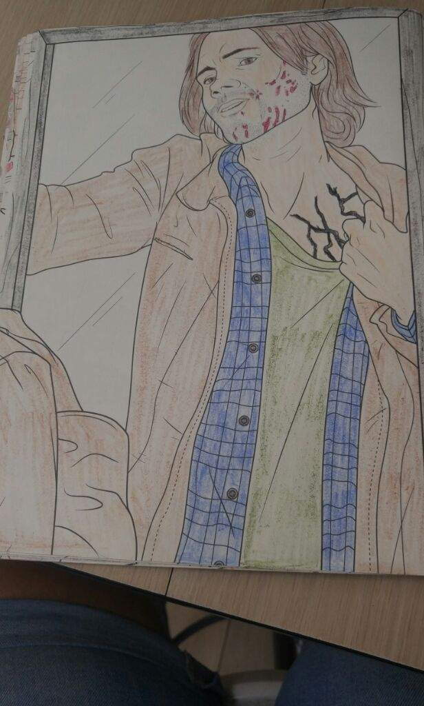 Another Supernatural Coloring Pages