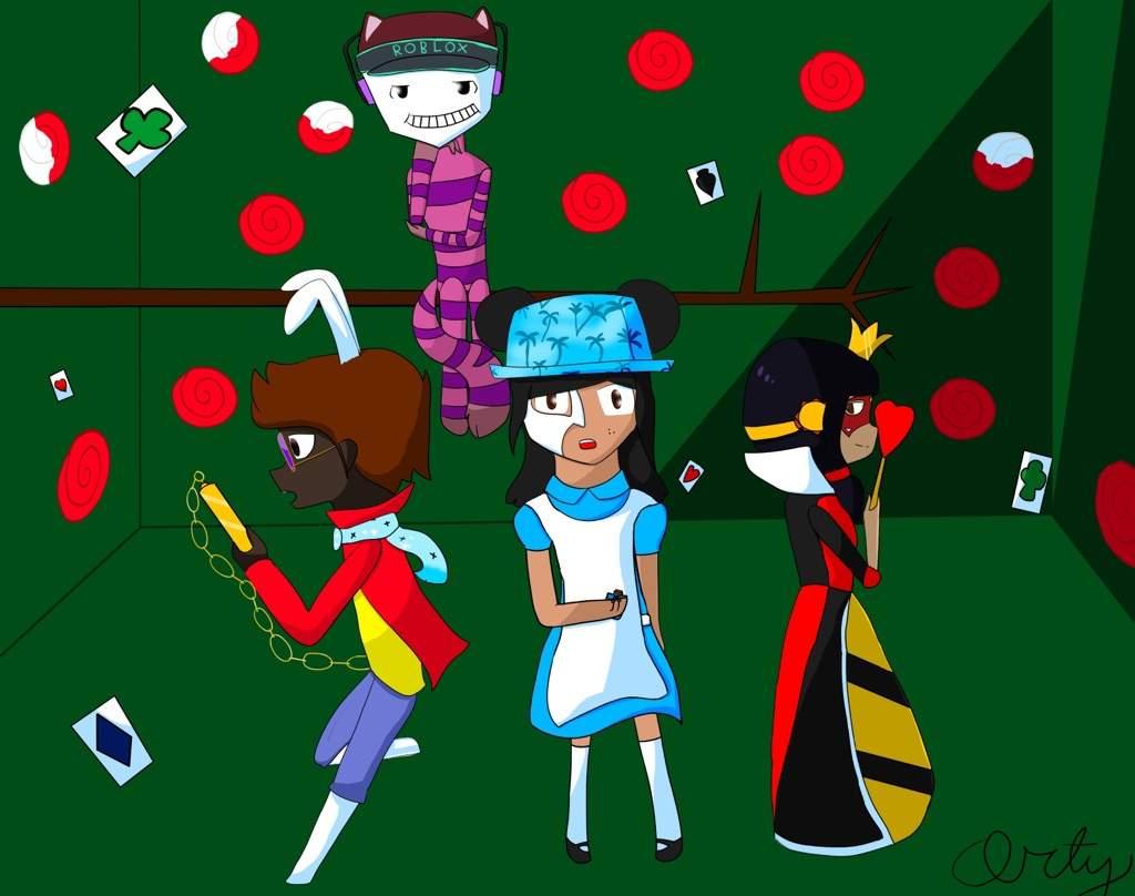Roblox In Wonderland Artist S Content Amino