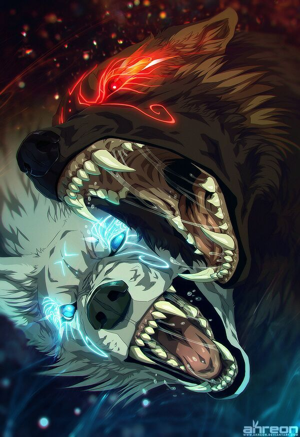 What Hend Between Angrboda And Fenrir Is Still A Mystery Sköll Hati Tried Saving Their Father Got Captured By The