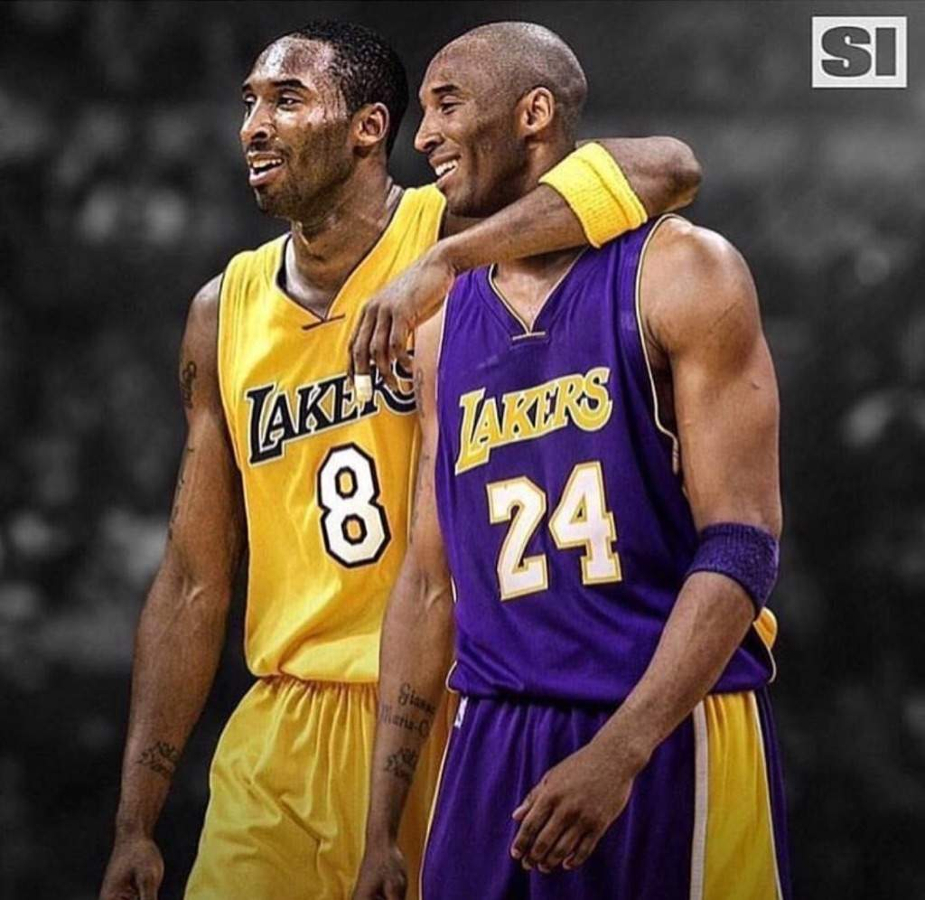 912301246 The Lakers will retire both No. 8 and No. 24