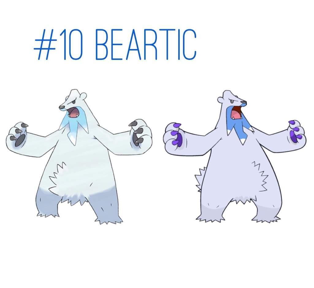 Pokemon Beartic Wwwtollebildcom