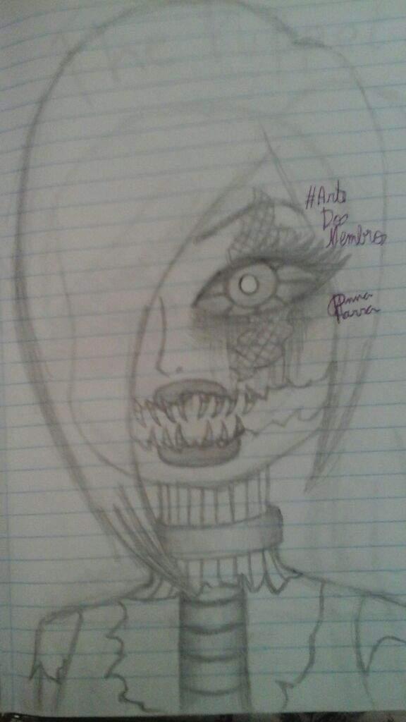 Nightmare Chica Desenhos Antigos Artedosmembros Creepypastabr Amino