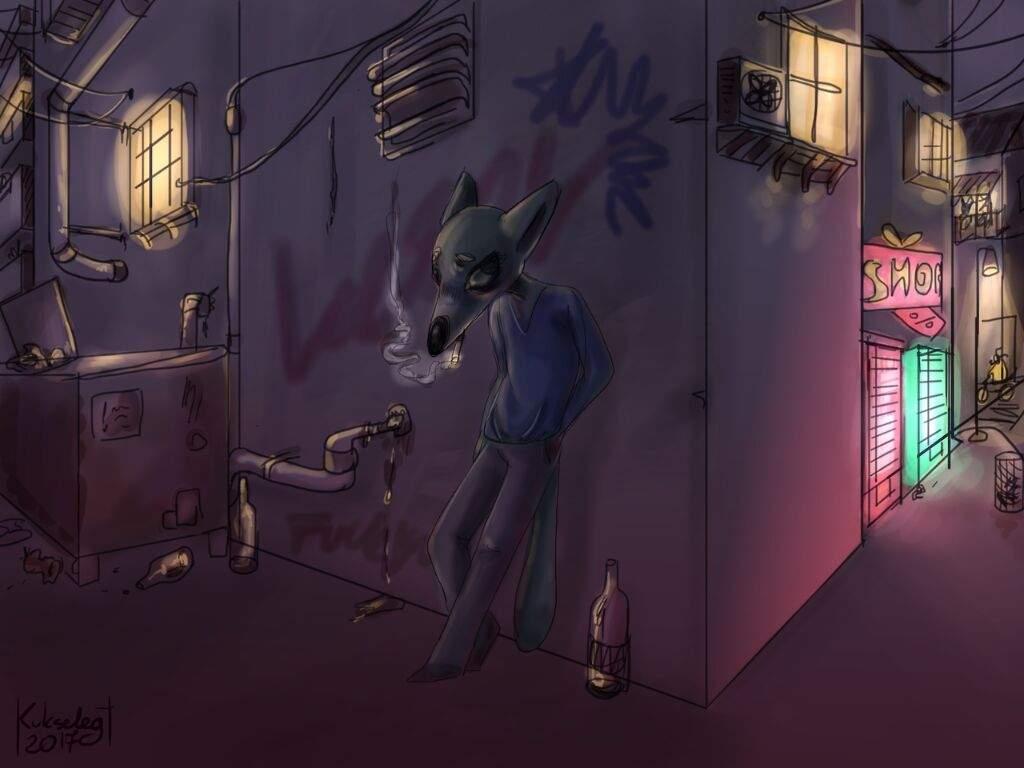 Neon lights and night vibes | Animation Art + MAP Amino