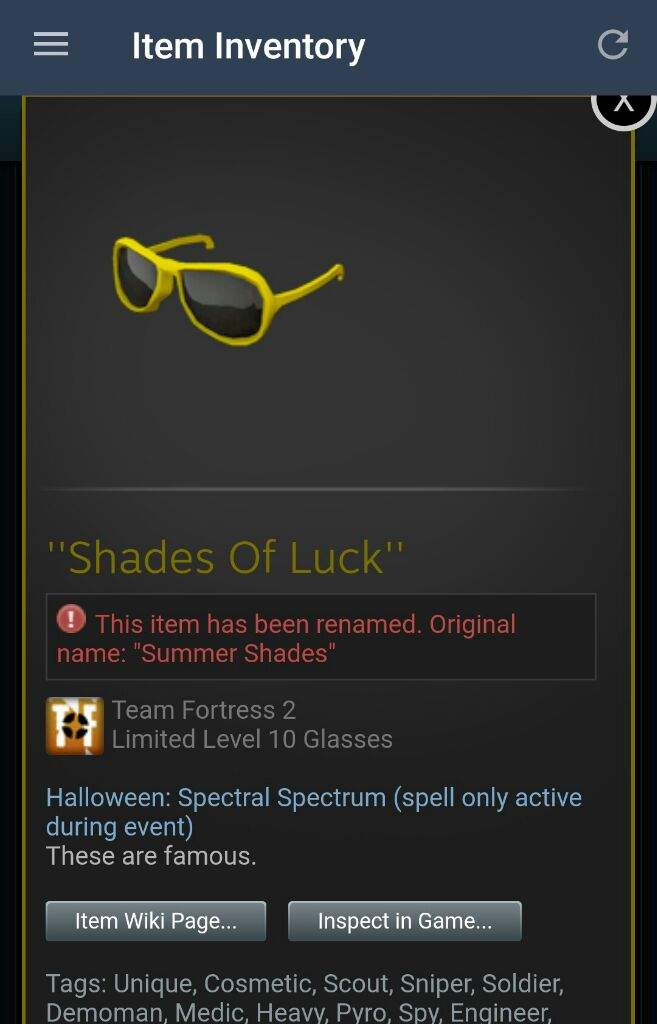 My current halloween spell item | Team Fortress 2 Amino