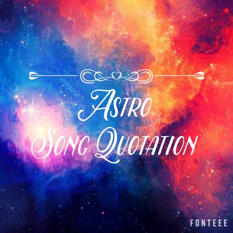 Astro Song Quotation Strong Aroha Astro Amino