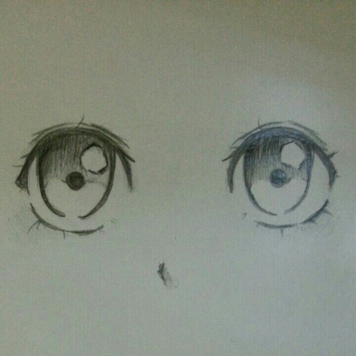 It's just a picture of Inventive Cute Anime Eyes Drawing