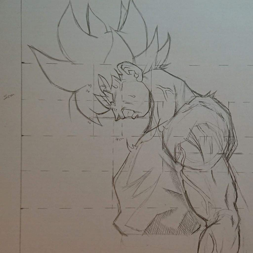 How to draw goku my own reference image tutorial video