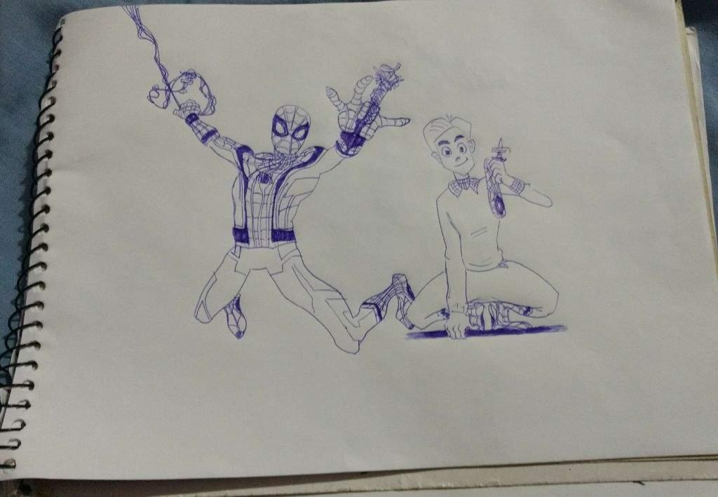 Homem Aranha De Volta Ao Lar Desenho
