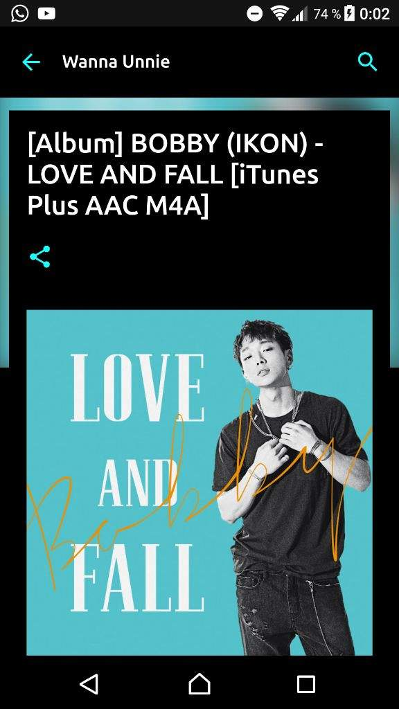 Download BOBBY - LOVE AND FALL [iTunes Plus AAC M4A] | K-Pop Amino