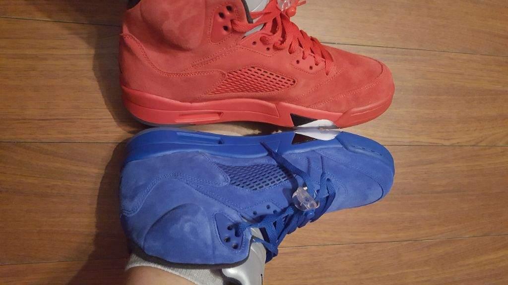 competitive price e0368 69ff1 RED VS BLUE | Sneakerheads Amino