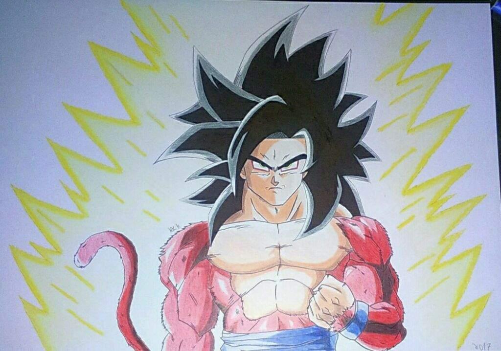 Super Saiyan 4 Goku Dragonballz Amino
