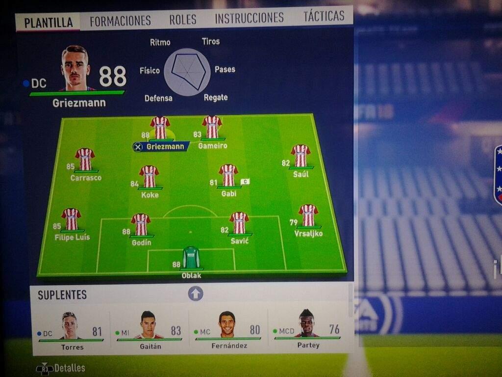 Las plantillas de equipos en la Demo de FIFA 18 parte 1 | Fútbol ...