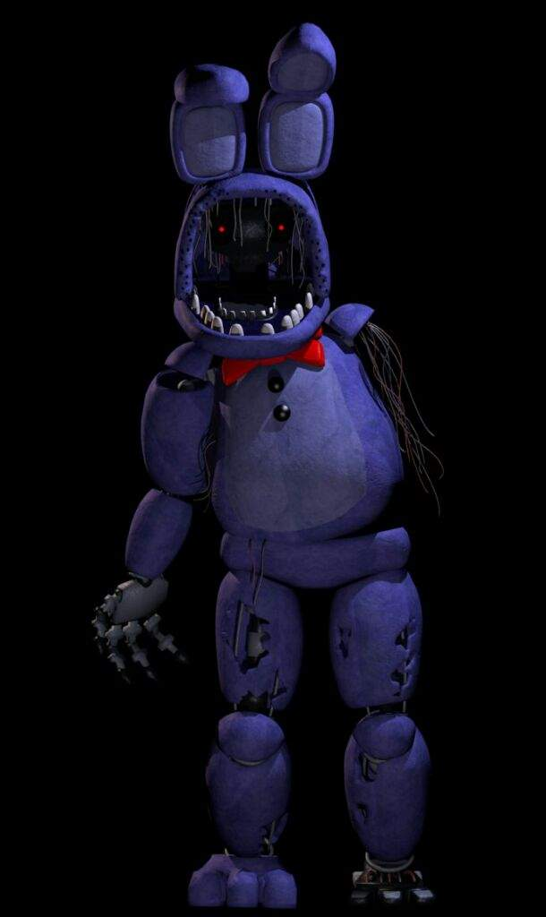 Why Bonnie reaches for you face in his jumpscare. | Five ...