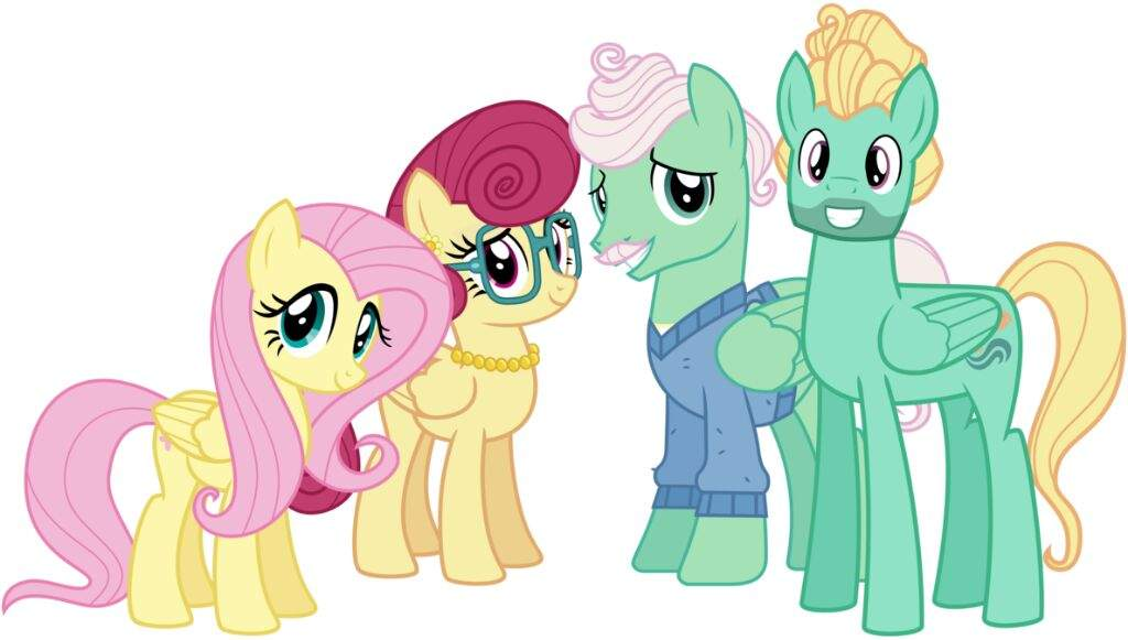 my little pony fluttershy parents wwwimagenesmycom