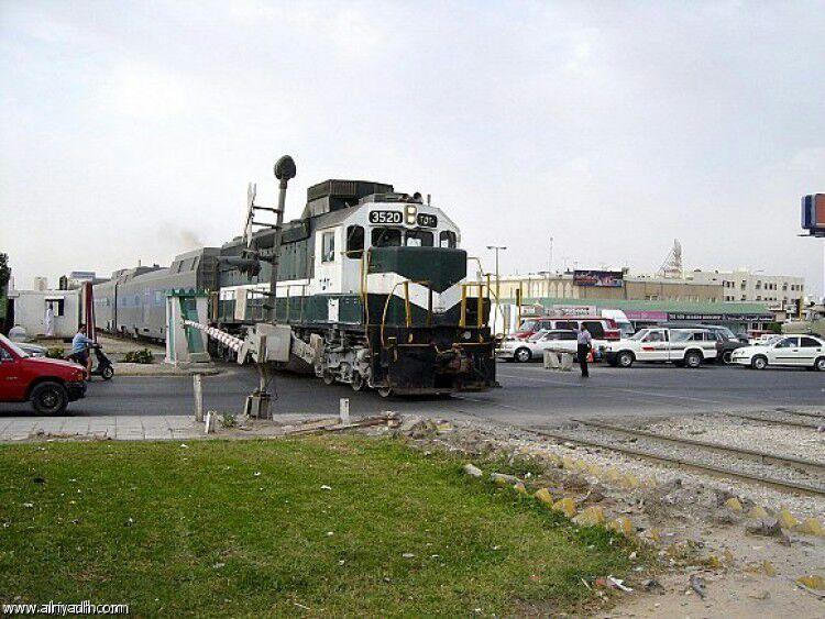 Saudi Railroad Grade Crossing  (Not My Photo) | Railfan