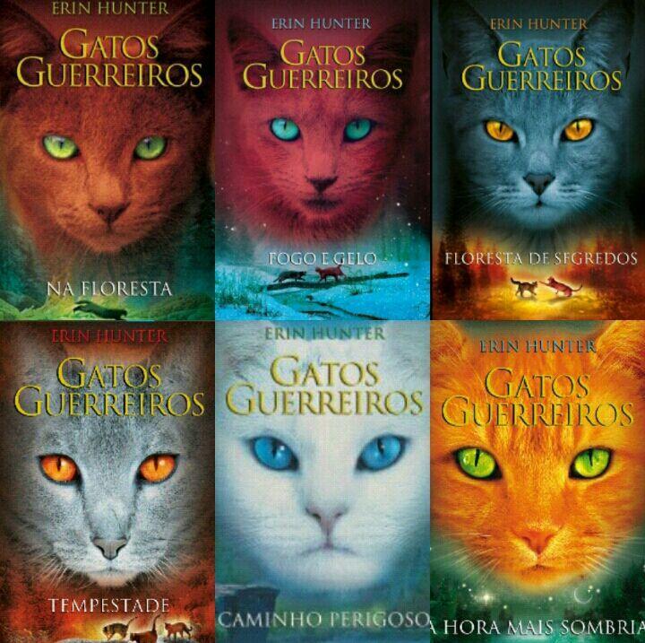 Resultado de imagem para gatos guerreiros livros
