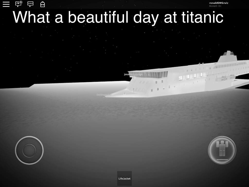 The Short Story Of The Titanic Roblox Amino