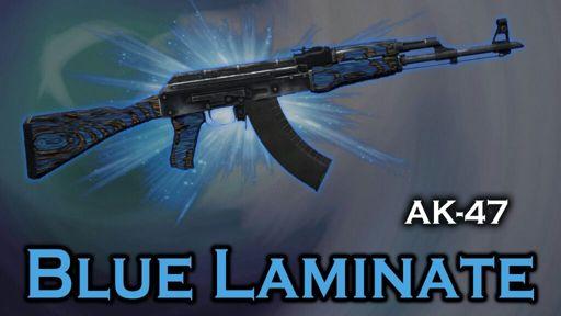 Ak47 Blue Laminate Still Looking