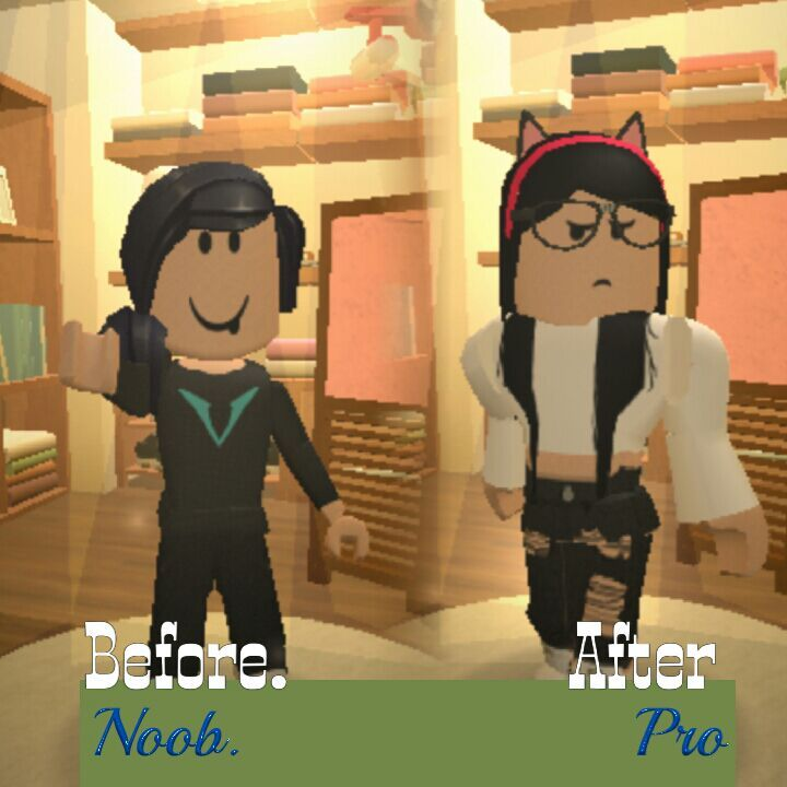 Before And After Roblox Amino