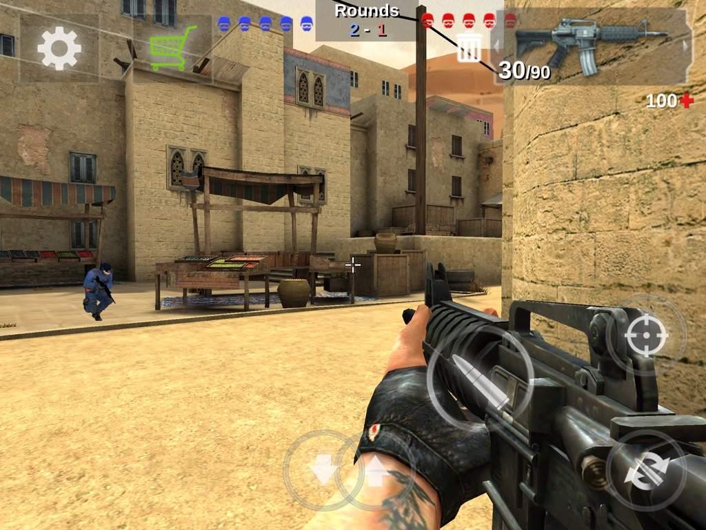 A CSGO clone (Not C-Ops) | Counter Strike Amino
