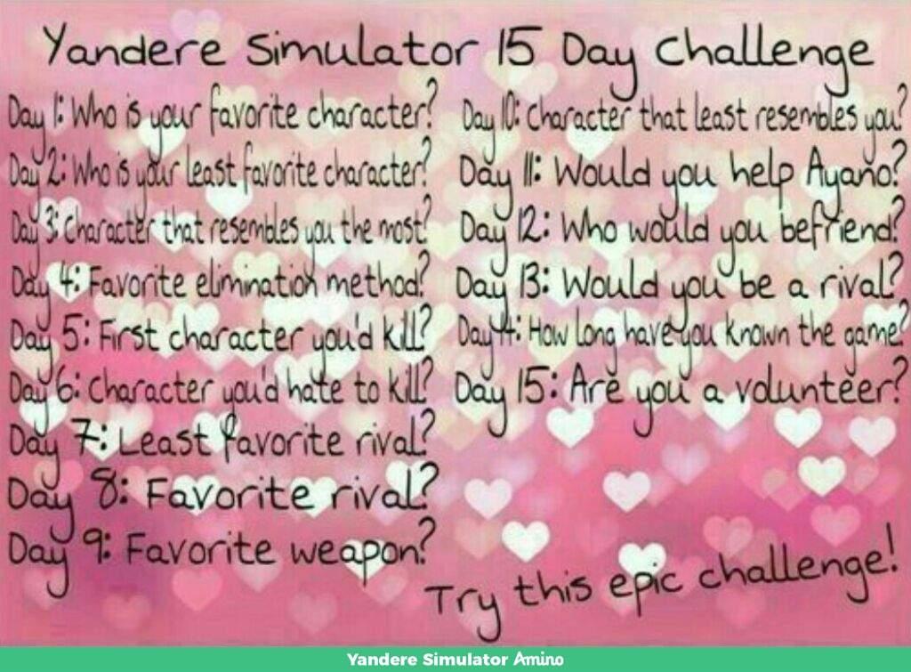 Day 12   Yandere Simulator Amino