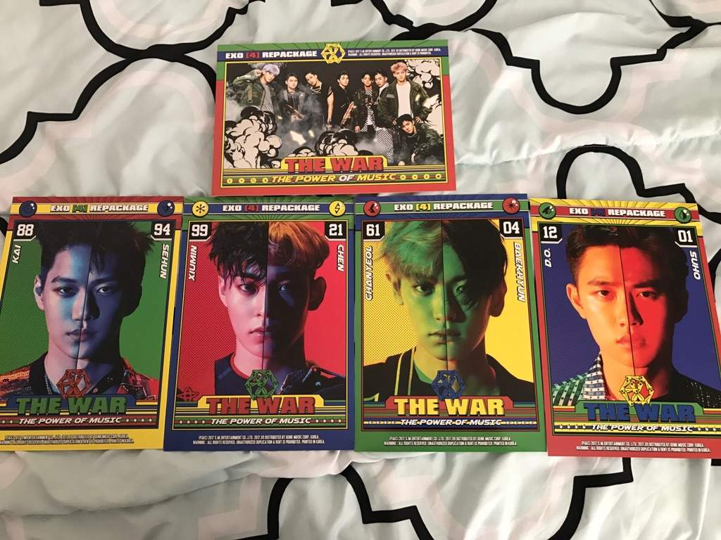 Exo Power Of Music UNBOXING