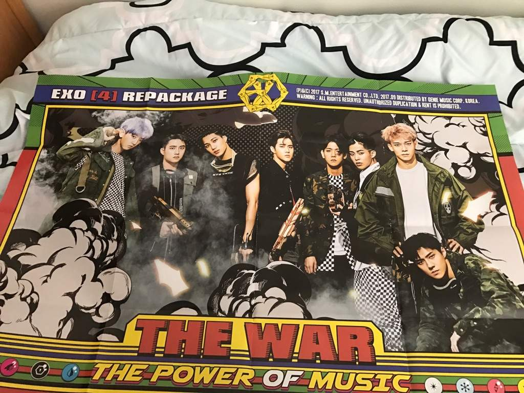 Exo Power Of Music Unboxing Exo 엑소 Amino