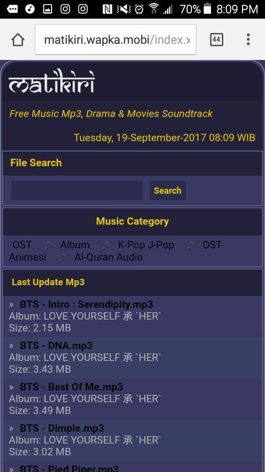 download lagu bts make it right matikiri mp3
