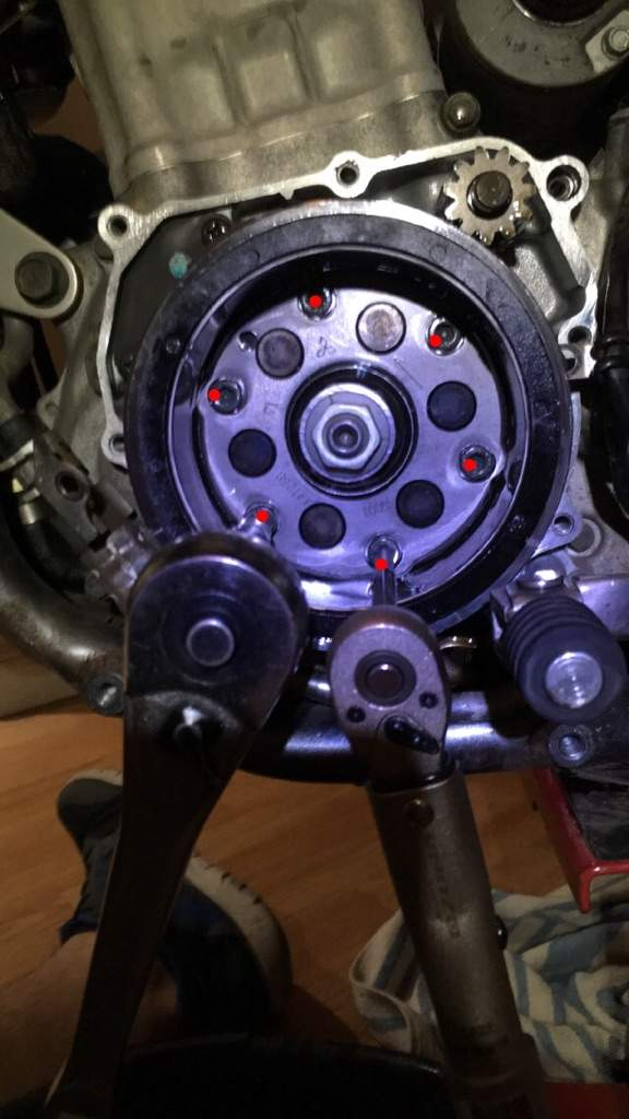 DRZ400 stator loctite fix | Motorcycle Amino Amino