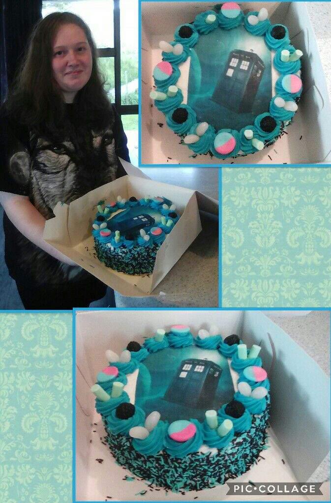 14th Birthday Cake And Present