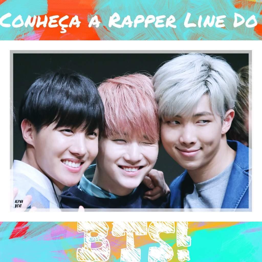 8f1edb4685 Conheça Mais A Rapper Line Do BTS!!