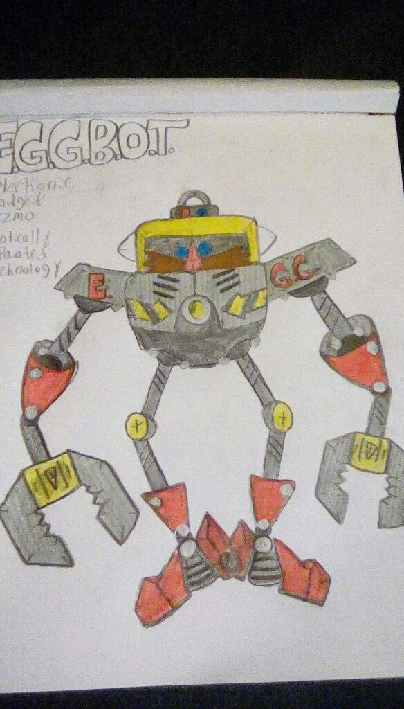 Does Any One Want To Draw My Original Eggman Robot Sonic The Hedgehog Amino